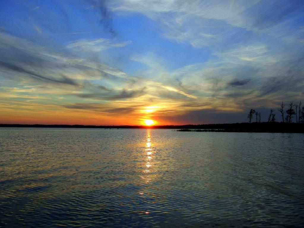 Sunset Zander
