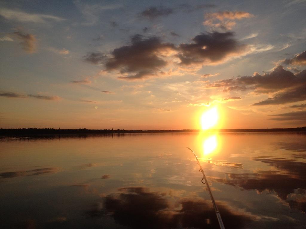 Vidöstern Sunset